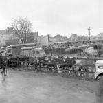 Le marché historique - extrait du livre de M. Peignon - © VINCENT PEIGNON