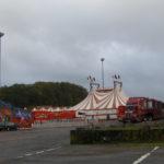 Le cirque au marché